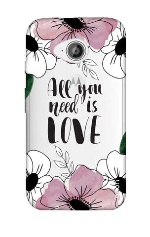 All You Need is Love Motorola Moto E2 Cases & Covers Online