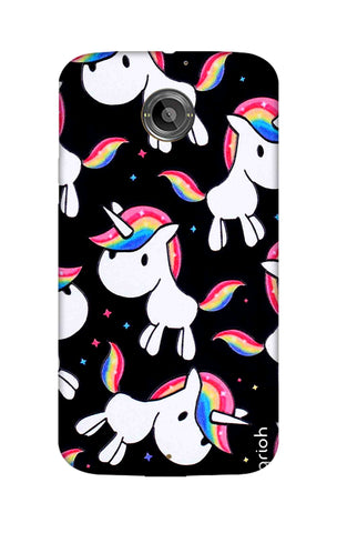 Colourful Unicorn Motorola Moto X2 Cases & Covers Online