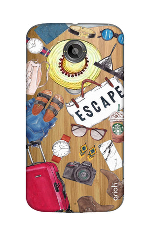 Travel Doodle Motorola Moto X2 Cases & Covers Online