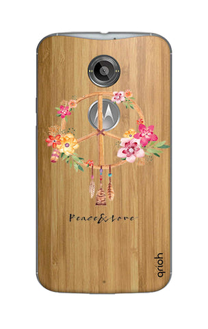 Peace And Love Motorola Moto X2 Cases & Covers Online