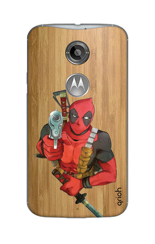 Deadpool Warrier Motorola Moto X2 Cases & Covers Online