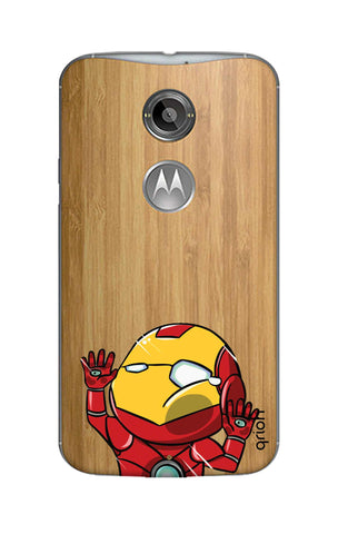Iron Man Wall Bump Motorola Moto X2 Cases & Covers Online