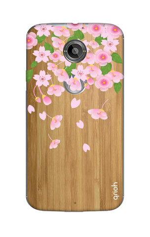 Pretty Pink Floral Motorola Moto X2 Cases & Covers Online