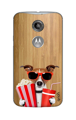 Dog Watching 3D Movie Motorola Moto X2 Cases & Covers Online
