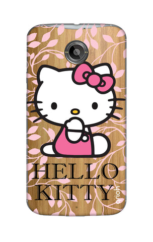 Hello Kitty Floral Motorola Moto X2 Cases & Covers Online