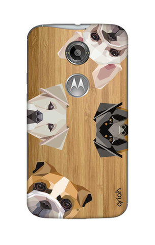 Geometric Dogs Motorola Moto X2 Cases & Covers Online