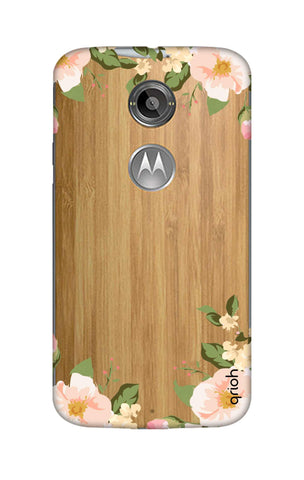 Flower In Corner Motorola Moto X2 Cases & Covers Online