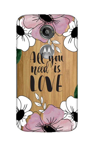 All You Need is Love Motorola Moto X2 Cases & Covers Online