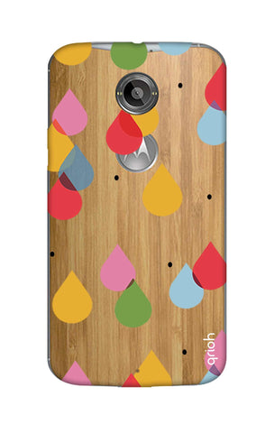 Colourful Drops Motorola Moto X2 Cases & Covers Online