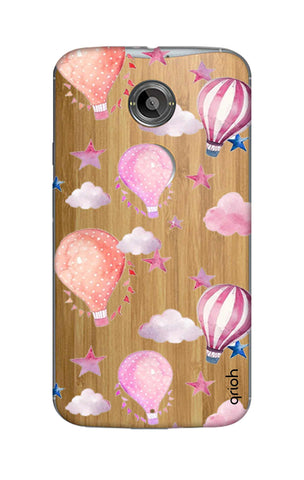 Flying Balloons Motorola Moto X2 Cases & Covers Online