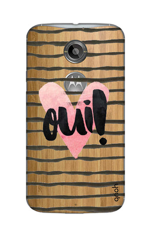 Oui! Motorola Moto X2 Cases & Covers Online