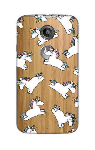 Jumping Unicorns Motorola Moto X2 Cases & Covers Online