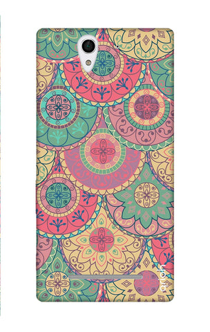 Colorful Mandala Sony C3 Cases & Covers Online