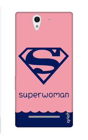 Be a Superwoman Sony C3 Cases & Covers Online