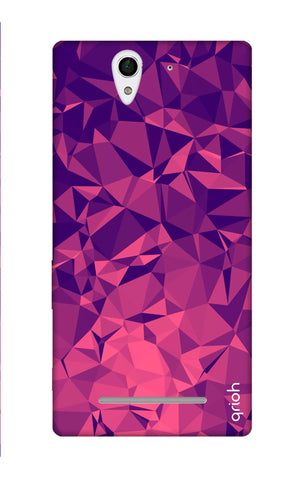 Purple Diamond Sony C3 Cases & Covers Online