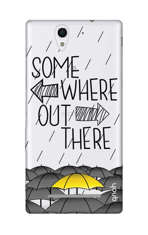Somewhere Out There Sony C3 Cases & Covers Online