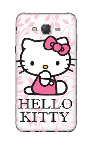 Hello Kitty Floral Samsung J5 Cases & Covers Online