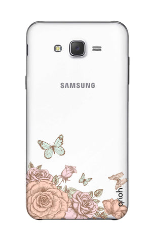 Flower And Butterfly Samsung J5 Cases & Covers Online
