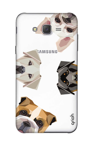Geometric Dogs Samsung J5 Cases & Covers Online