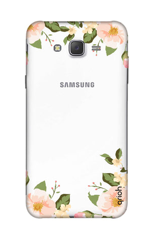 Flower In Corner Samsung J5 Cases & Covers Online