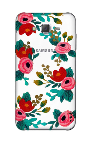 Red Floral Samsung J5 Cases & Covers Online