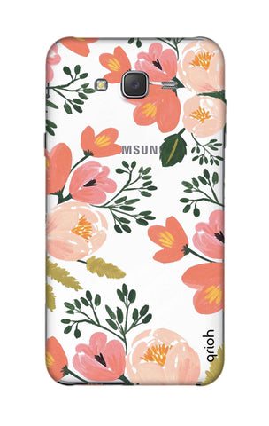 Painted Flora Samsung J5 Cases & Covers Online