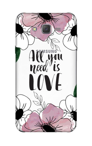 All You Need is Love Samsung J5 Cases & Covers Online
