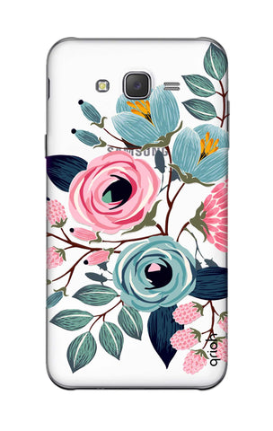 Pink And Blue Floral Samsung J5 Cases & Covers Online