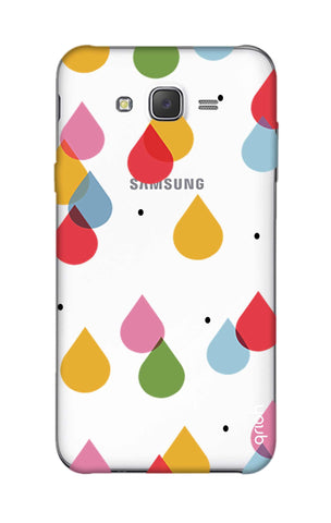 Colourful Drops Samsung J5 Cases & Covers Online