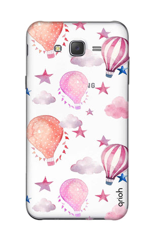 Flying Balloons Samsung J5 Cases & Covers Online