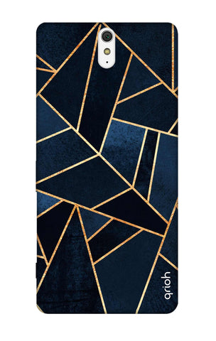 Abstract Navy Sony C5 Cases & Covers Online