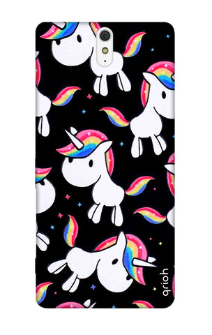Colourful Unicorn Sony C5 Cases & Covers Online