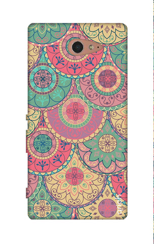 Colorful Mandala Sony M2 Cases & Covers Online