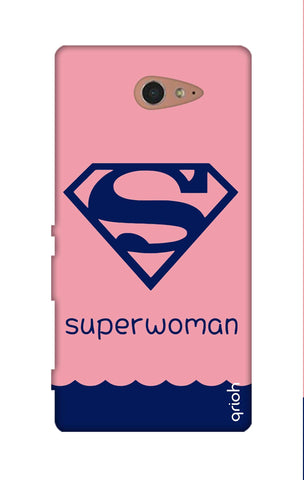 Be a Superwoman Sony M2 Cases & Covers Online