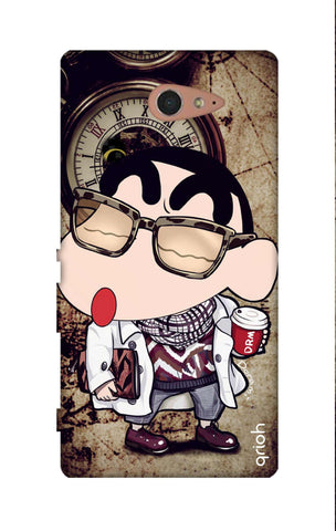 Nerdy Shinchan Sony M2 Cases & Covers Online