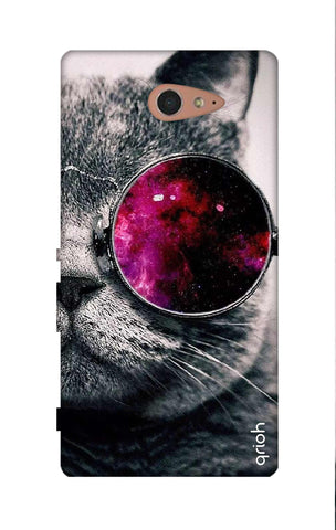 Curious Cat Sony M2 Cases & Covers Online