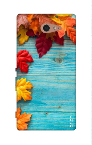 Fall Into Autumn Sony M2 Cases & Covers Online