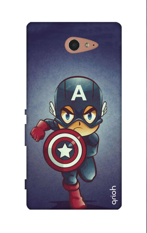 Toy Capt America Sony M2 Cases & Covers Online