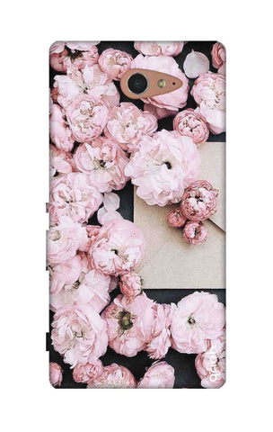 Roses All Over Sony M2 Cases & Covers Online