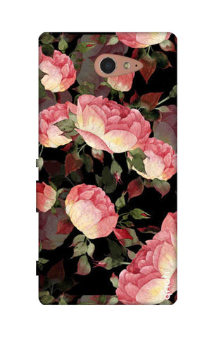 Watercolor Roses Sony M2 Cases & Covers Online