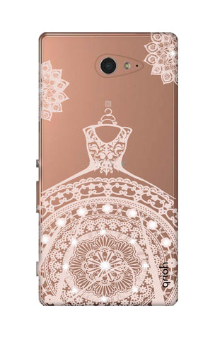 Bling Wedding Gown Sony M2 Cases & Covers Online
