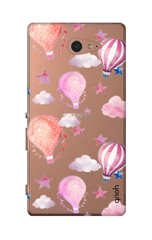 Flying Balloons Sony M2 Cases & Covers Online