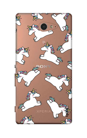 Jumping Unicorns Sony M2 Cases & Covers Online