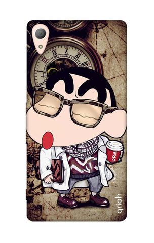 Nerdy Shinchan Sony M4 Cases & Covers Online