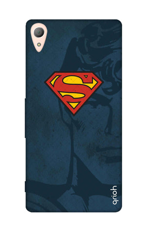 Wild Blue Superman Sony M4 Cases & Covers Online