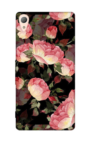 Watercolor Roses Sony M4 Cases & Covers Online