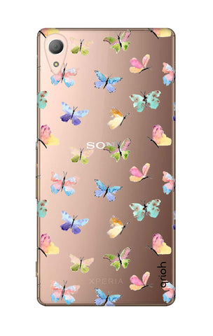 Painted Butterflies Sony M4 Cases & Covers Online