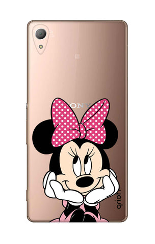 Minnie In Deep Thinking Sony M4 Cases & Covers Online