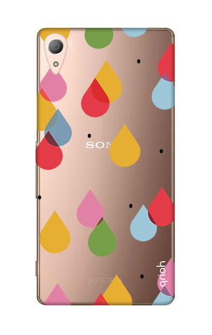Colourful Drops Sony M4 Cases & Covers Online