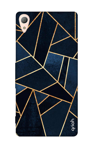 Abstract Navy Sony Z3 Cases & Covers Online